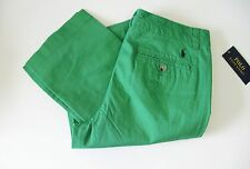 Ralph Lauren Boys Slim Fit Chino Pants Lifeboat Green Sz 16 - NWT