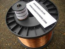1.00mm - ENAMELLED COPPER WINDING WIRE, MAGNET WIRE, COIL WIRE - 500g Spool pva