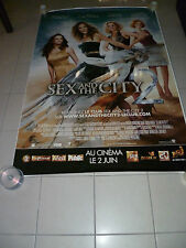 AFFICHE CINEMA ROULEE - SEX AND THE CITY - PREVENTIVE - 120x160