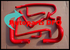 Red silicone heater radiator hose for HOLDEN VN VP VR VS V8 5.0L SS 304