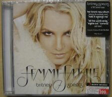 BRITNEY SPEARS - FEMME FATALE - CD IMPORT THAILAND NEW & SEALED