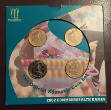 2002 Sealed Commonwealth Games £2 Pound Coins Set Ireland England Wales Scotland