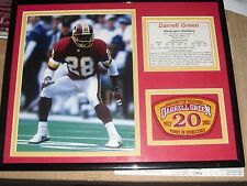 Darrell Green Retirement Washington Redskins Collage w/20 Years Patch Stats