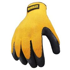 DEWALT DPG70 Texturized Rubber Coated Work Gloves Medium M DPG70M Grip Grab