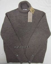 Last1 $550 Brooks Brothers Thom Browne for Black Fleece Thick wool sweater BB2 M