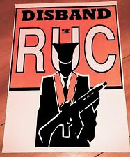 IRISH REPUBLICAN DISBAND THE RUC ROYAL ULSTER CONSTABULARY POLICE LONG KESH.