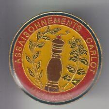 RARE PINS PIN'S .. ALIMENT EPICES POIVRE MOULIN PEPER CARLOT MEXIMIEUX 01 ~C5