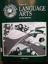 A Year of Language Arts on the Internet (1996, Textbook, 2 Diskettes)