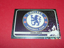 128 BADGE ECUSSON CHELSEA UEFA PANINI FOOTBALL CHAMPIONS LEAGUE 2005 2006