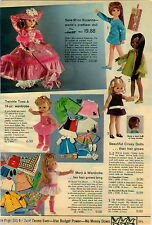 1970 PAPER AD Doll Crissy Marjie Twinkle Toes Jill-Dee Pitter Patty Suzanna