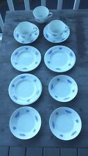 Adderley China Grapes Motif – Coffee Cups, Side Plates, Bowls