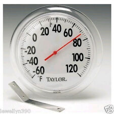 "Taylor Indoor/Outdoor Thermometer 6"" diameter"