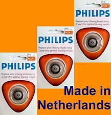 3x GENUINE PHILIPS heads HQ902 HQ904 HQ906 HQ912 HQ914 HQ916
