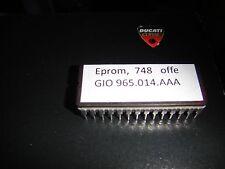 ►1X Ducati 748 Mono and Biposto mod Eprom Chip Open Exhaust Akrapovic Termignoni