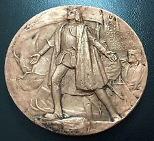 Columbus Bronzed Medal 400 Anniversary of America World Fair Expo 1892-93 / M77