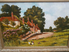 Large Oil Painting  refA3/ky 724
