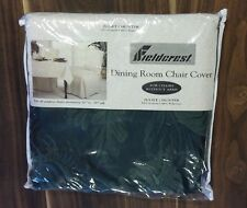 "FIELDCREST JULIET HUNTER DINING ROOM CHAIR COVER FITS 30"" TO 38"" ARMLESS CHAIR"