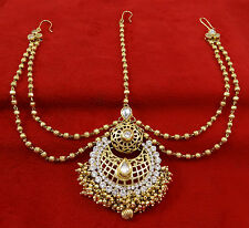 Image result for head jewellery indian wedding