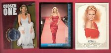 KATE UPTON + CHRISTIE BRINKLEY CHROME WORN JEANS RELIC SWATCH CARD SI SWIMSUIT +