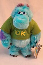 """Disney Monsters University 8"""" Sully Plush Toy Doll NEW NWT"""
