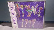 PRINCE 1999 (1982) JAPAN TARGET 11A1 +++++ CD OBI 3800yen 38XD