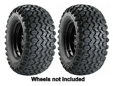 (2) New Carlisle 25x13x9 HD Field Trax Rear Tires For John Deere Gator UTV's