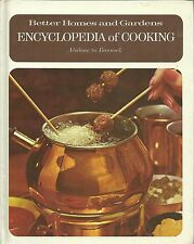 Better Homes and Gardens Encyclopedia of Cooking Vol. 1 Hardcover 1970