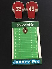 Ohio State Buckeyes Jack Tatum/Archie Griffin lapel pins-#1 Best Seller-Fan Fav