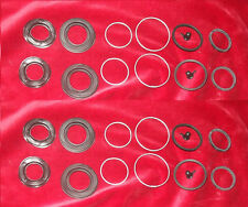 (x2) DE TOMASO Pantera   FRONT BRAKE CALIPER REPAIR SEALS  KITS    (1968- 73)