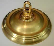 CANOPY SPUN BRASS SCREW COLLAR LOUP AND ALL PARTS LAMP REFERBISH REPAIR 101