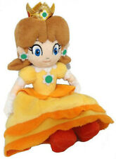 """Super Mario Bros 7"""" Princess Daisy Soft Plush Doll Toy For Kids Baby Gift"""