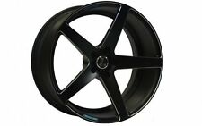 """18"""" INCH LENSO CONQUISTA 7 WHEELS 18X8 18X9 CONCAVE RIMS ALLOYS X4 HOLDEN FORD"""