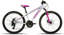 GHOST Powerkid 24 Disc Kindermountainbike white/pink/palepink - Modell 2016