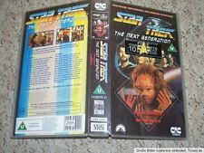Kellerfund Dachbodenfund VHS Kassette Star Trek The Next Generation Pen Pals