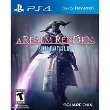 Final Fantasy XIV Online: A Realm Reborn - Sony Playstation 4 Game - Complete