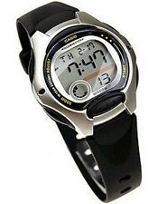 Casio LW200-1A Ladies Black Digital Sports Watch 50m Dual Time Daily Alarm Small