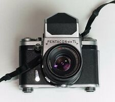 Pentacon Six TL Medium Format SLR Film Camera carl ziess 80mm f2.8 (only f2.8 )