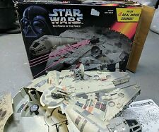 1995 Star Wars  Millennium Falcon w/ Electronic Lights & Sounds Space Ship