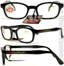 KD's Samcro Flame Clear Glasses KD Motorcycle Sons of Anarchy W Pouch 3015
