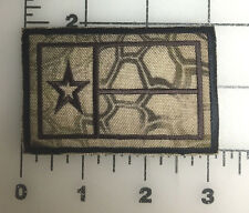 "Texas Flag Patch KRYPTEK HIGHLANDER Background Hook and Loop Back 3"" X 2"""