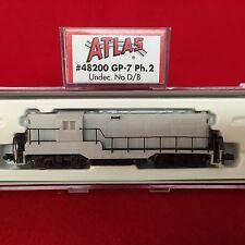 48200 Atlas N Scale GP-7 Undecorated Engine NIB