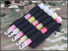 EMERSON Military Light Stick Molle Pouch (Black) aor1 aor2 Devgru EM6033A