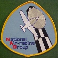 National Air-Racing Group on Blue Twill Patch