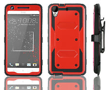HTC Desire 626/ 626s Solid Tactical Armor Holster Defender Protector Phone Case