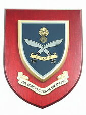 QUEENS GURKHA ENGINEERS REGIMENT CLASSIC HAND MADE  REGIMENTAL MESS PLAQUE