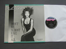 Whitney Houston ‎– Didn't We Almost Have It All     12'    EX