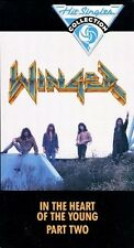 WINGER - * Sealed VHS video tape * (In The Heart Of The Young Part 2 - 1991)Meta
