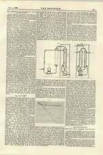 1895 Commercial Manufacture Of Liquid Air And Oxygen New Steam Lifeboat Holland
