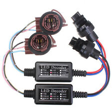2X  Canbus LED Decoder 3157A Adapter Anti Hyper Blinking Flashing Error Cancel