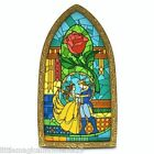 Disney Parks Beauty And The Beast Stained Glass Window Frame NEW / NIB